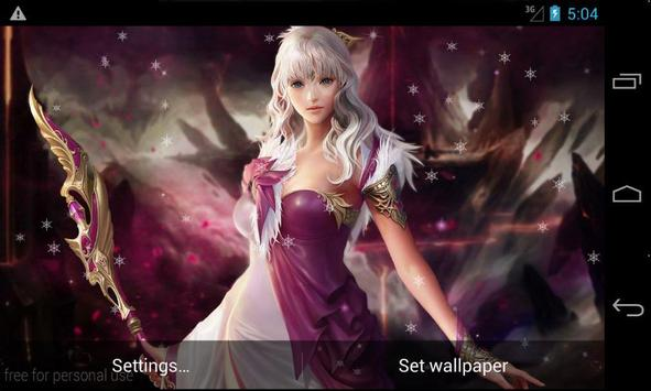 Fantasy Girls LiveWallpaper screenshot 12