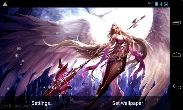 Fantasy Girls LiveWallpaper screenshot 1
