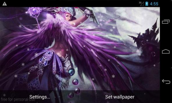 Fantasy Girls LiveWallpaper screenshot 2
