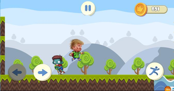 Running Trump apk screenshot