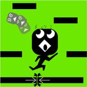 Runner Line icon