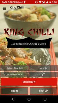 King Chilli poster