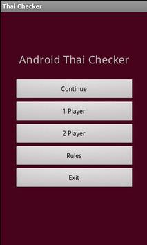 Thai Checkers poster