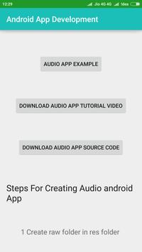 Learn Android App Development apk screenshot