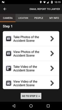 King Aminpour Accident Help App screenshot 2
