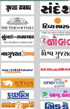 Gujarati News All NewsPaper poster