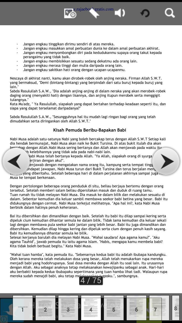 1001 Kisah Teladan Islami Für Android Apk Herunterladen