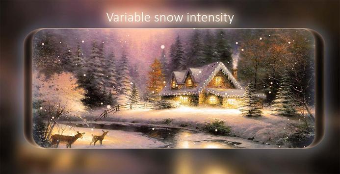 Snowfalling Live Wallpaper screenshot 11