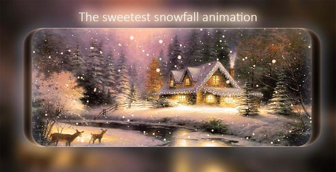 Snowfalling Live Wallpaper screenshot 12