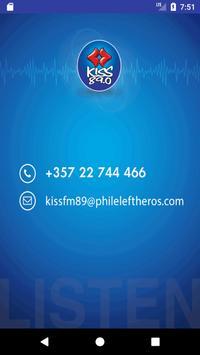 Kiss Radio 89.0 Cyprus screenshot 1