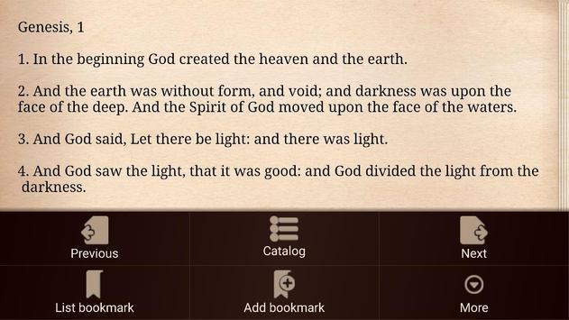 KJV Bible screenshot 5