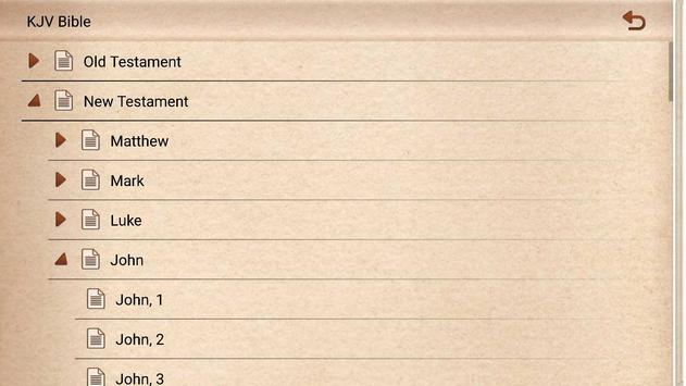 KJV Bible - No ADS apk screenshot