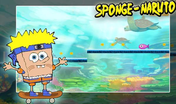 sponge maruto poster