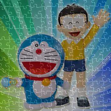 Doraemon jigsaw puzzle game poster