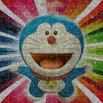 Doraemon jigsaw puzzle game screenshot 1