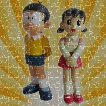 Doraemon jigsaw puzzle game screenshot 2