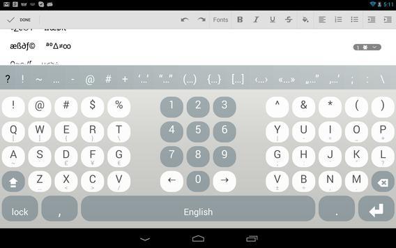 Multiling O Keyboard screenshot 13