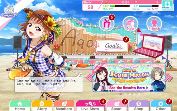 Love Live!School idol festival apk スクリーンショット