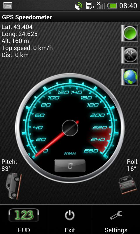 200 Kph To Mph >> Gps Speedometer Kph Atau Mph For Android Apk Download