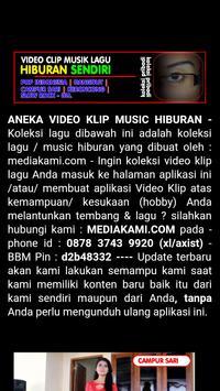 Video Musik Hiburan poster
