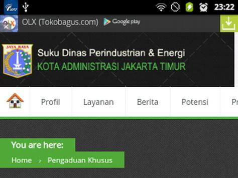 SDPE Jakarta Timur apk screenshot