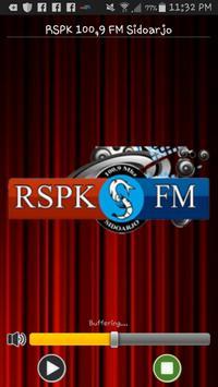 RSPK 100,9 FM Sidoarjo poster