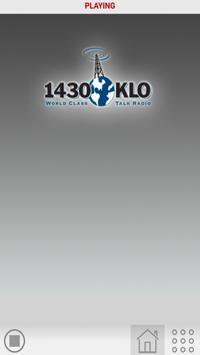 KLO Radio SLC UT poster