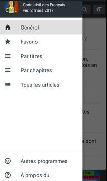 Code civil 2018 (France) apk screenshot