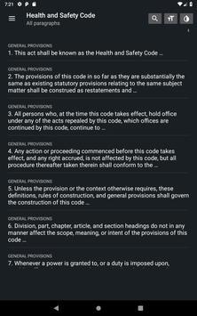 California Health & Safety Code 2019 free offline screenshot 12