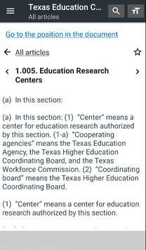 Texas Education Code screenshot 10