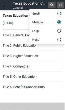 Texas Education Code screenshot 2