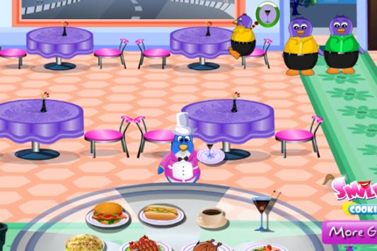 NY Penguin Cooking Restaurant apk screenshot
