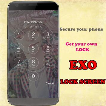 EXO HD screen locker apk screenshot