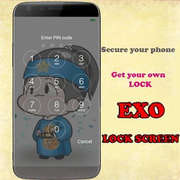 EXO HD screen locker poster