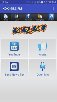 KQKI 95.3 FM poster
