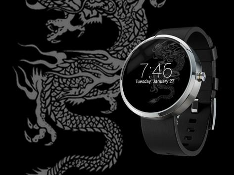 Dragon Watch Face poster