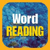 Word READING icon