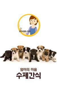 강아지 수제간식 애견간식 사료 -도그블로그- poster