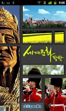 세계 문화 탐방 lite poster