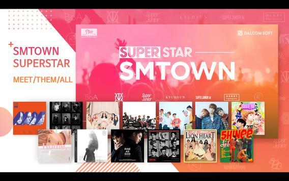 SuperStar SMTOWN APK-Bildschirmaufnahme