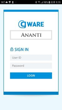 The Ananti 그룹웨어 poster