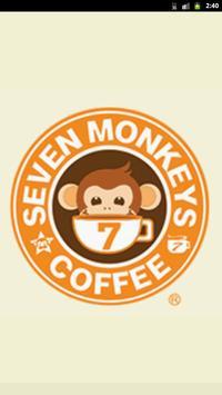세븐몽키스 커피점찾기 poster