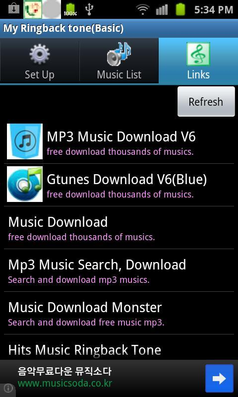 My Ringbacktone-For my ears    for Android - APK Download