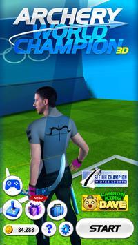 Archery World Champion 3D poster