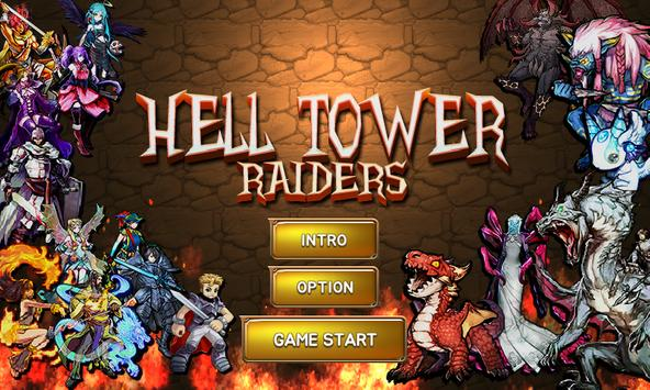 Hell tower lite :  raiders poster