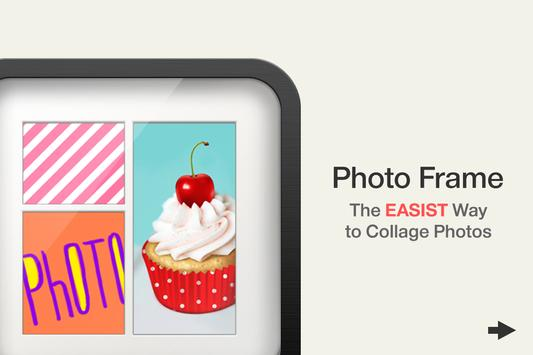 Photo Frame Free:Easy Collage poster