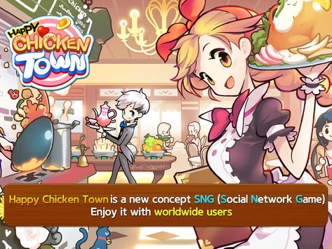 Happy Chicken Town (Farm & Restaurant) plakat