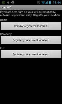 AutoWifi apk screenshot