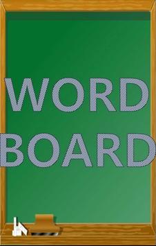 WordBoard poster