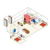 장수명 주택 가변형 시나리오 모듈 - AR/VR icon